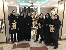 کسب مقام توسط تیم تیراندازی بانوان استان مرکزی در مسابقات سراسری وزارت نیرو
